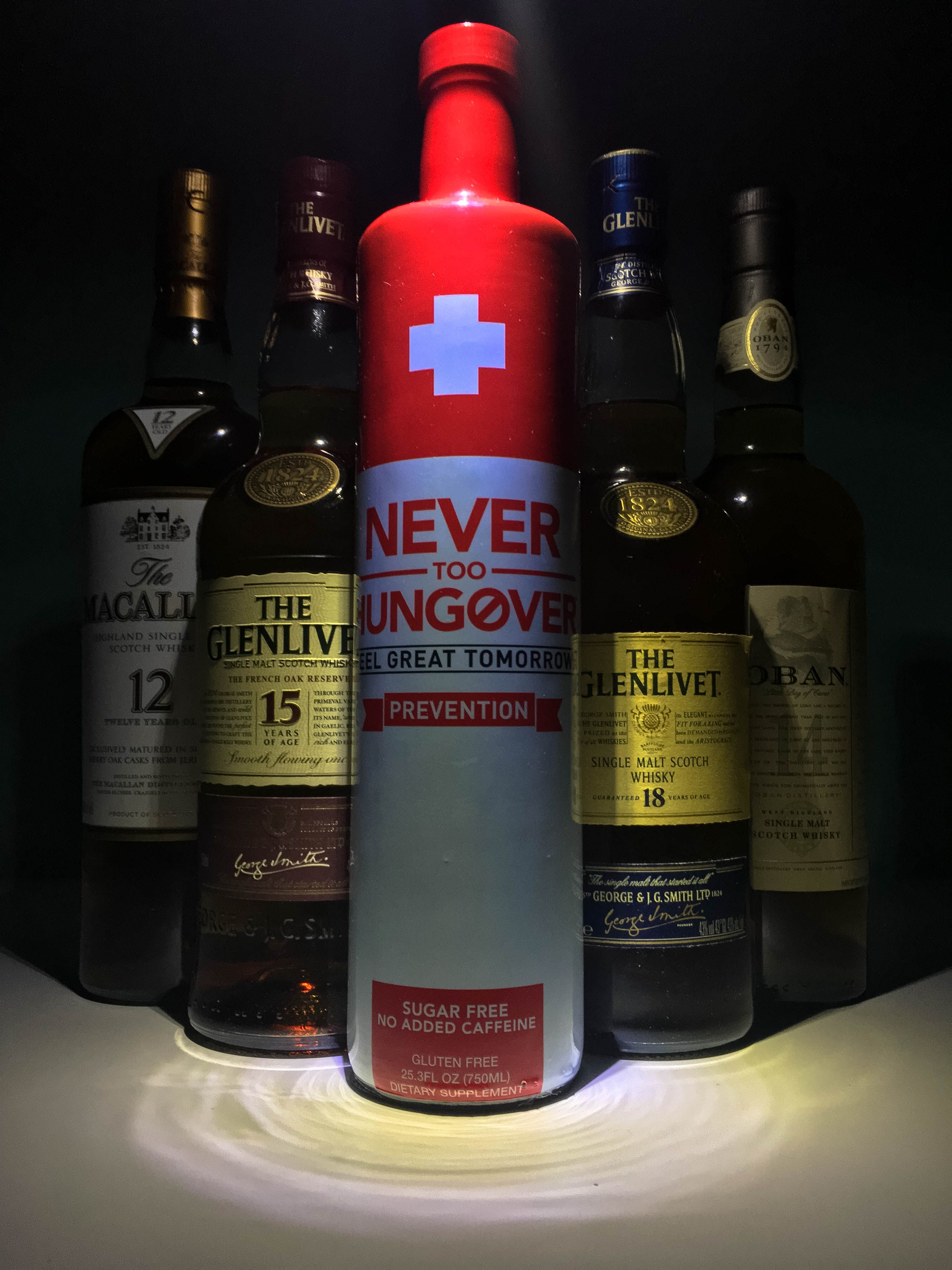 Help eliminate your hangover with a nonalcoholic shot