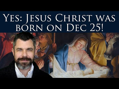 Yes, Jesus was born on Dec 25! Dr Marshall proves Dec 25 birth of Christ - YouTube