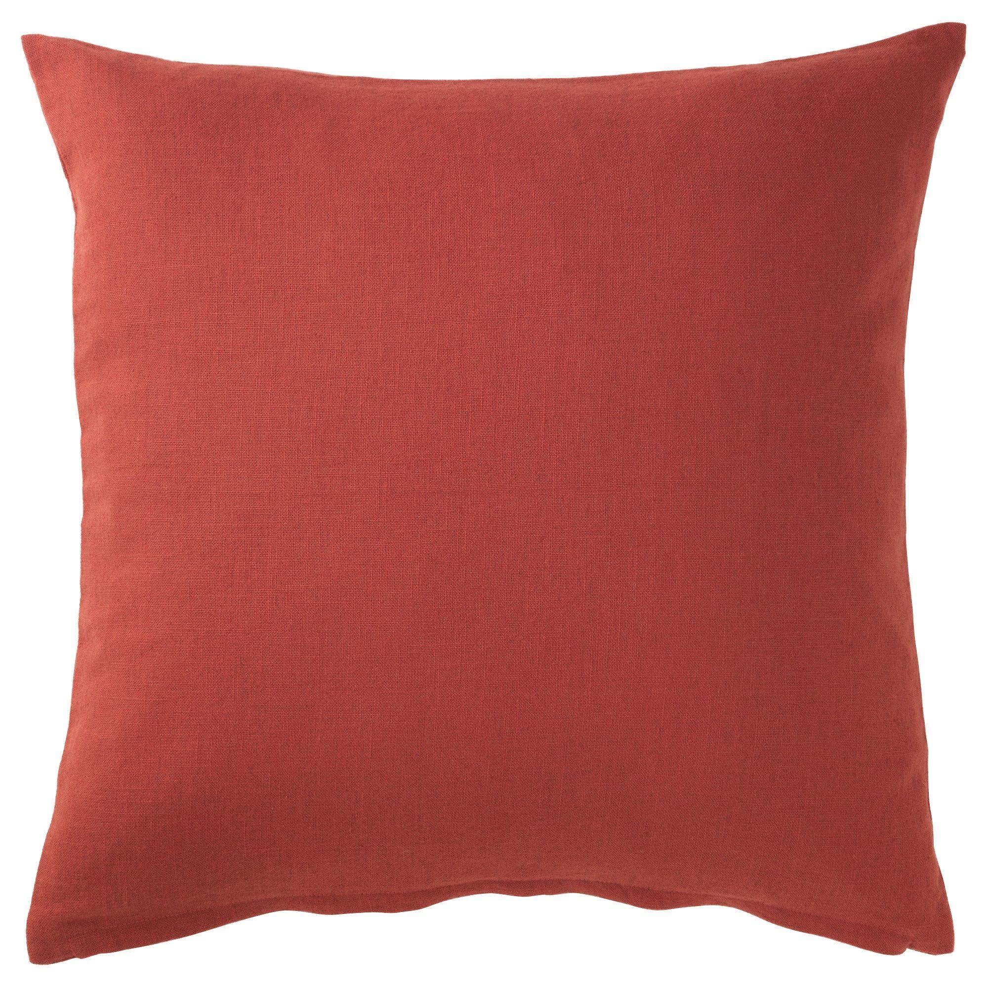 Vigdis Cushion Cover Red Orange Ikea Cushion Cover Ikea Throws Ikea