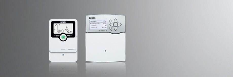 RESOL® - Elektronische Regelungen GmbH - FlowSol® B HE pump station