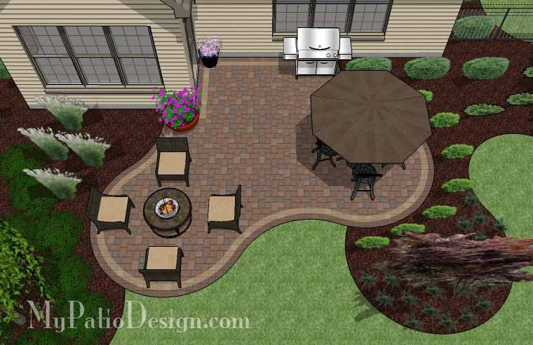 Superior Small Outdoor Living Patio Design | 390 Sq Ft | Download Installation Plan,  How Tou0027s And Material List @Mypatiodesign.com