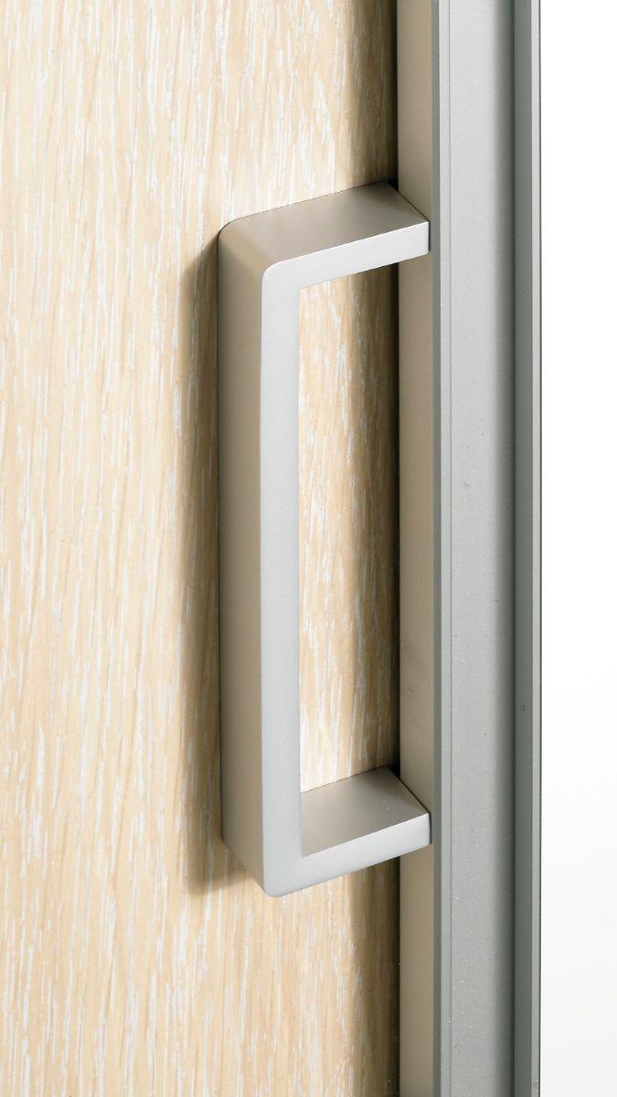 Holzschiebetür mit Bügelgriff. Holz Schiebetür | Schiebetür Holz ...