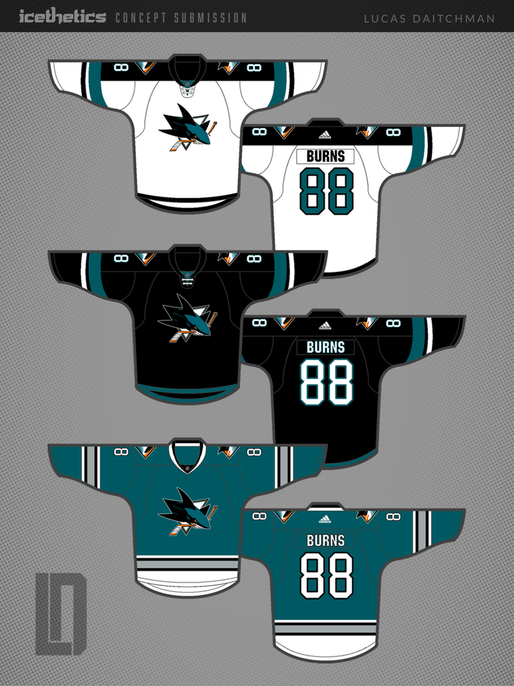 The Future Of San Jose Icethetics Co Logo Uniforms Jersey Design Nhl Jerseys