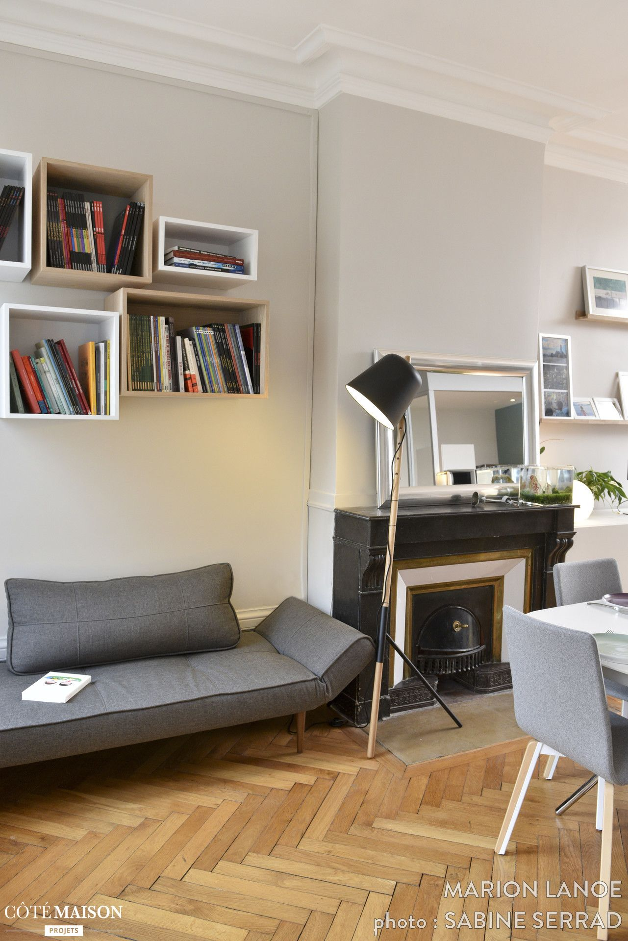 Rénovation d\'un appartement ancien à Lyon 03, Marion Lanoë - Côté ...