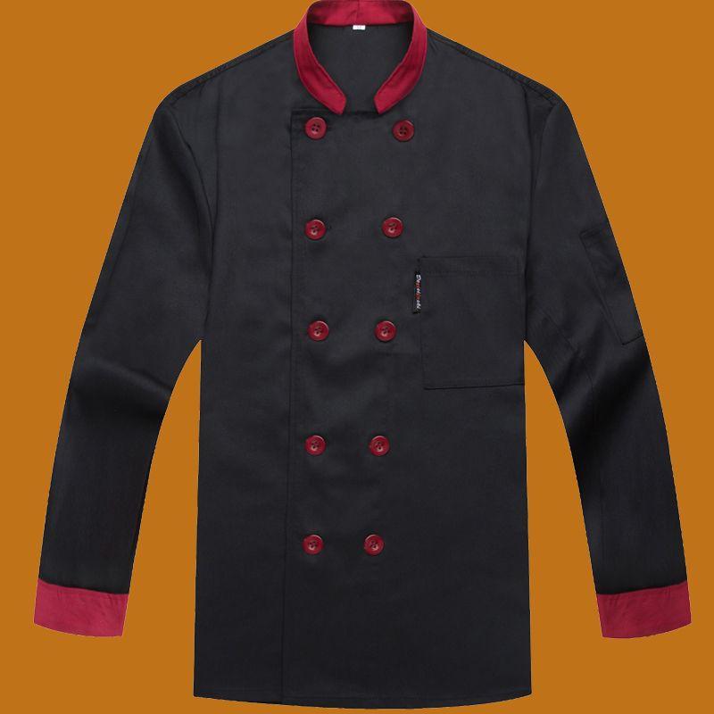 Restaurant Kitchen Uniforms autumn and winter uniform chef food service hotel restaurant chef