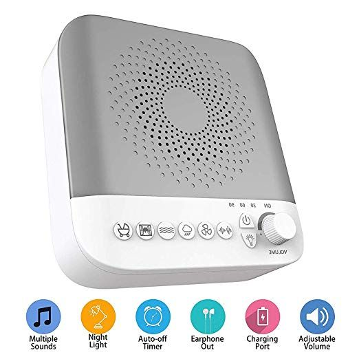 White Noise Machine for Sleeping, Portable Sle… | Cool ...
