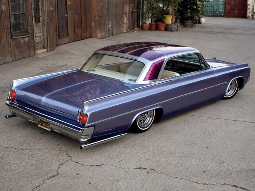 Read about this 1963 Oldsmobile Dynamic 88 built in the style of the late '60s parking lot elite - Rod and Custom Magazine