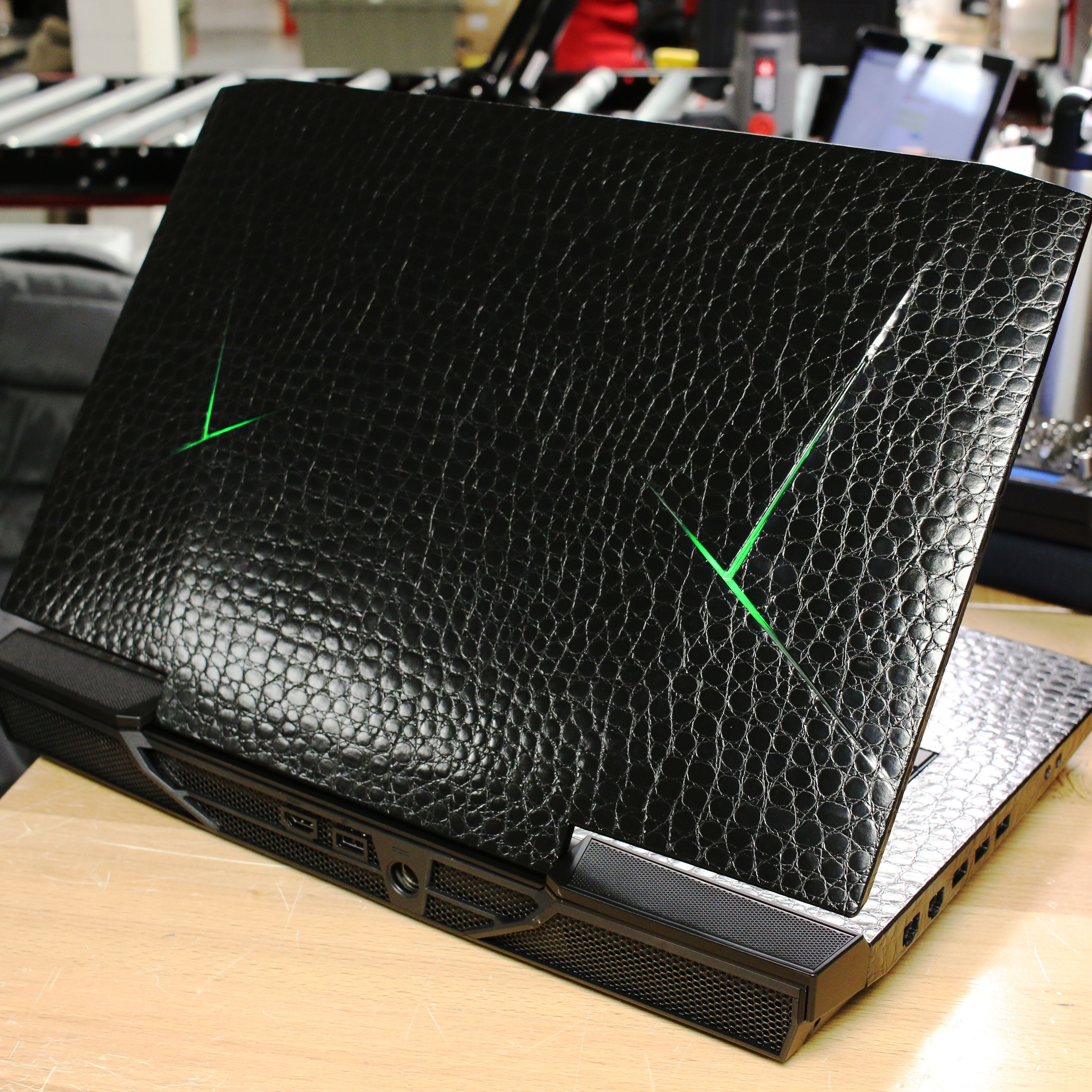 custom wrapped laptop from xotic pc