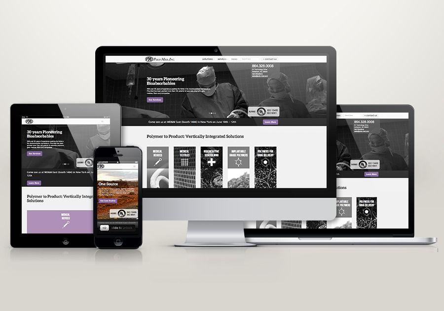 A Great Web Design By Digital Marauders New York Ny Responsive Website Portfolio Biotechnology Wordpress Web Design Digital New York