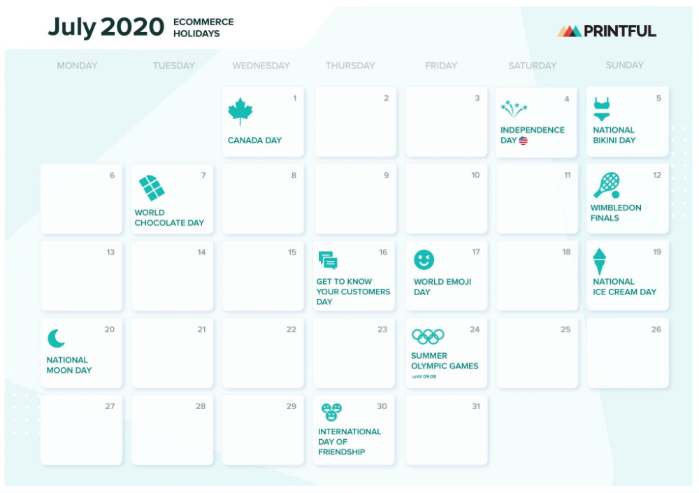 The Ultimate 2020 Holiday Marketing Calendar