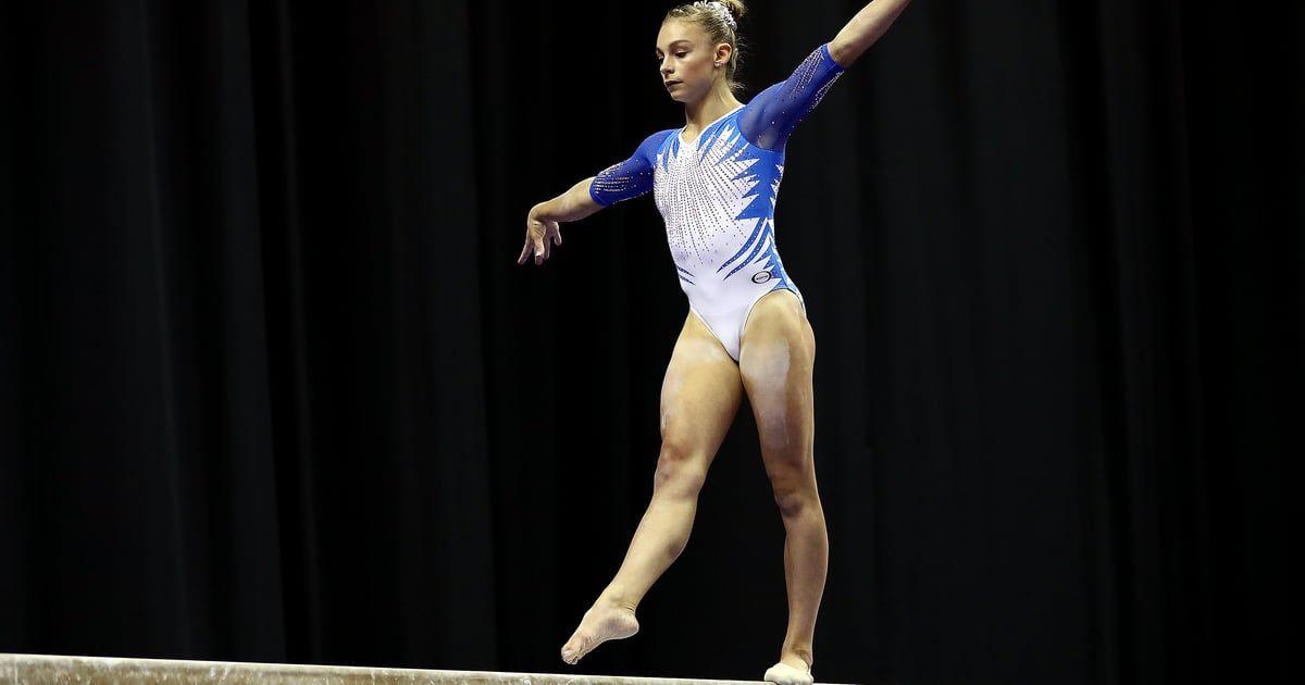 Meet Grace McCallum, the 16-Year-Old Gymnast Who's Already ...