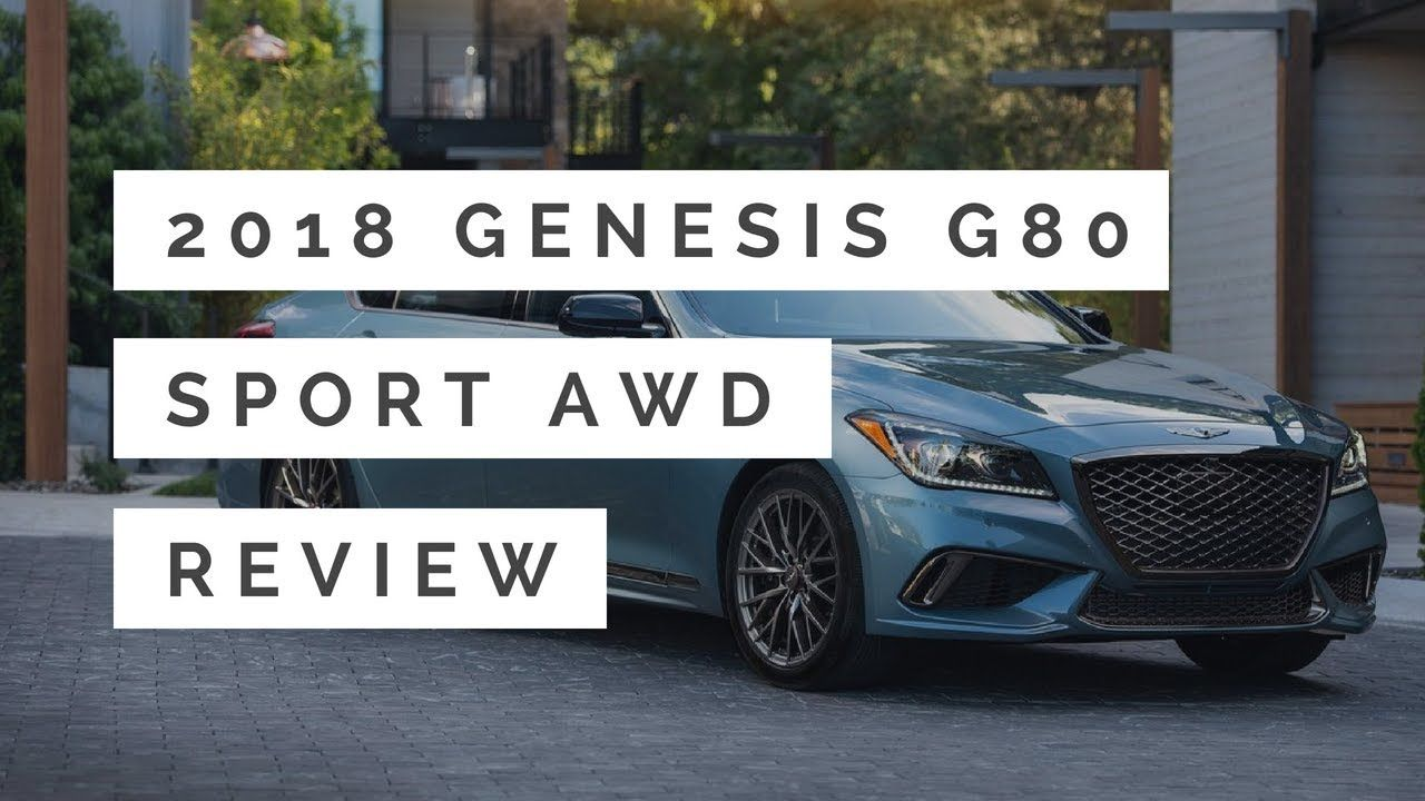 2018 Genesis G80 Sport AWD Review & First Look Exterior