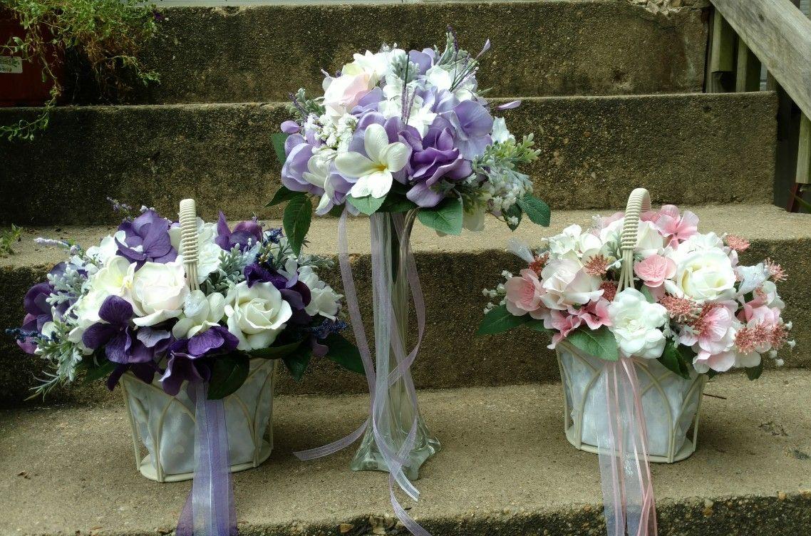 Flower Girl Basketflower Girl Bouquetflower Girl Basket Teresas