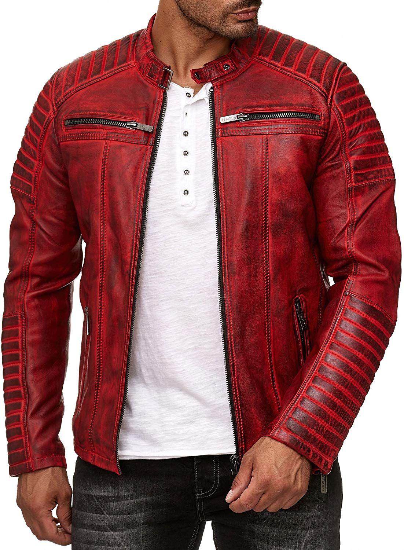 Redbridge Men S Jacket Transition Jacket Biker Leather Jacket