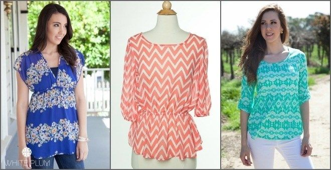 Spring Blouse Sale! 9 Styles Available!