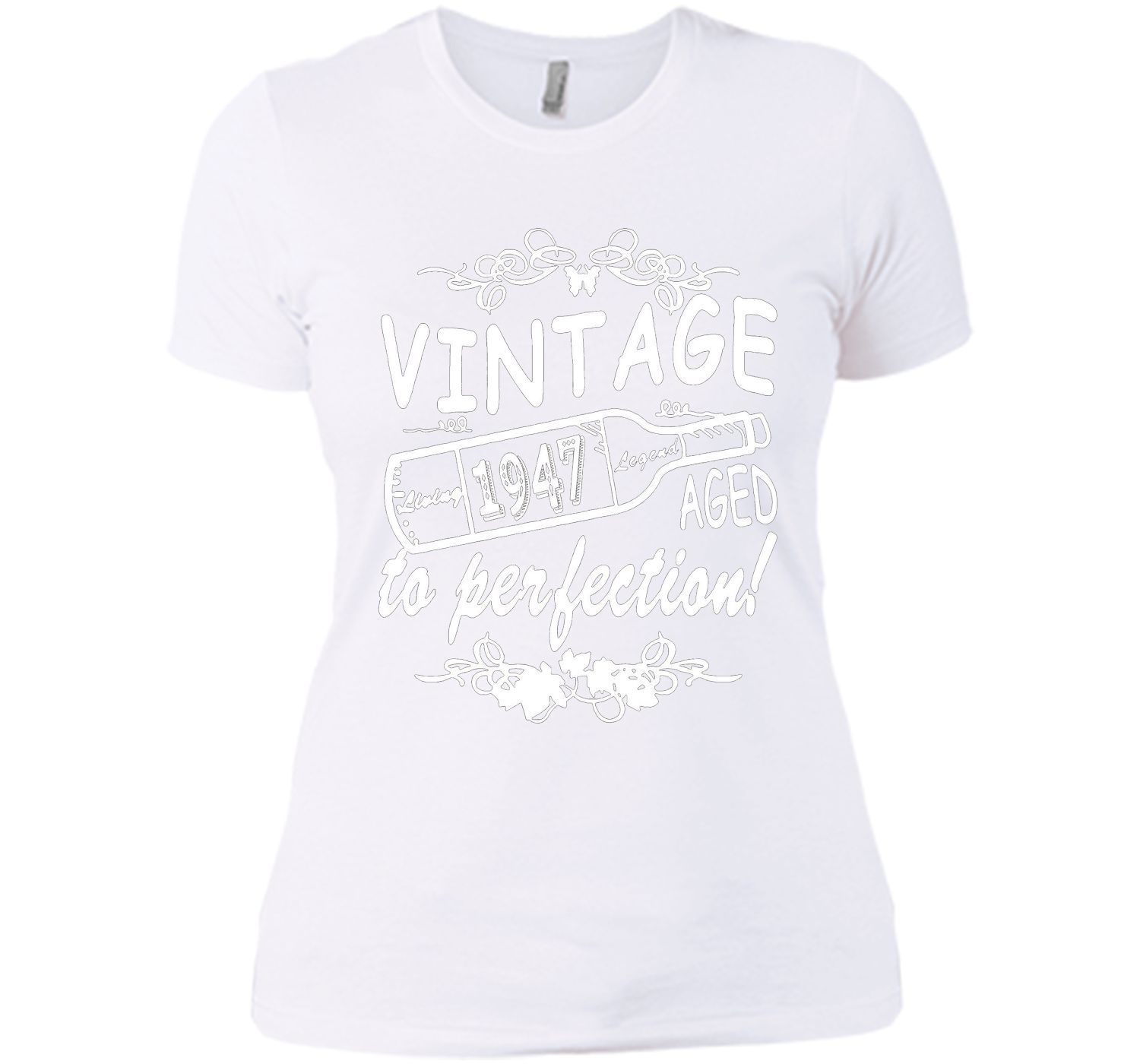 Vintage 1947 Aged To Perfection t shirt