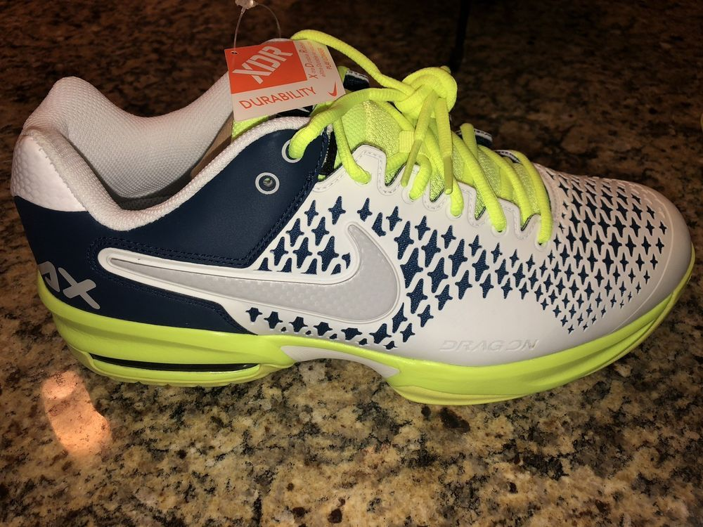 69949a3eb6efa Men s Nike Air Max Cage Brave Blue White-Volt-Dsty-Gry Size 10 US in ...