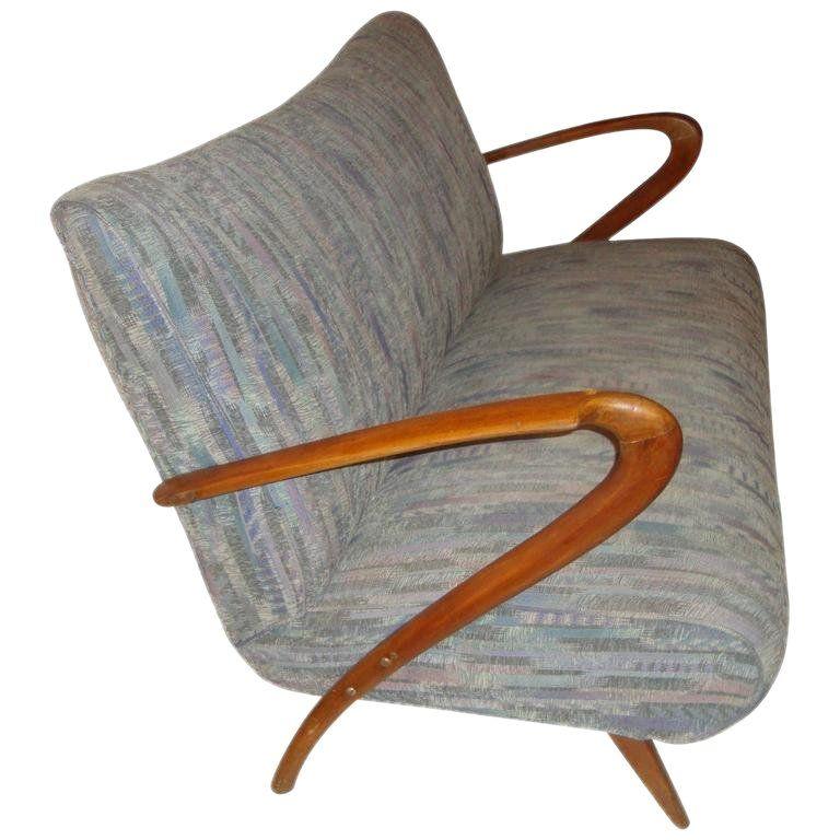 Mid Century Modern Z Canape Sofa Midcentury Modern Sofa