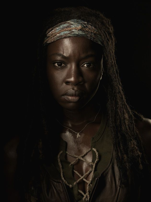 Season 4 Michonne Character Portrait