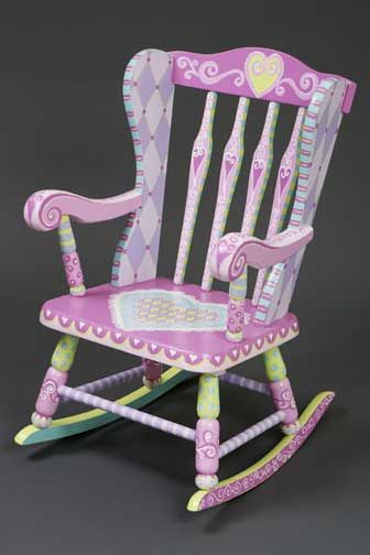 Child S Rocking Chair Too Cute Painted Rocking Chairs