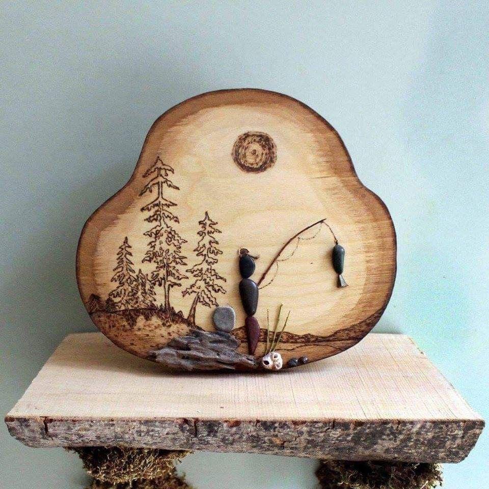 31+ Wood burning crafts items ideas