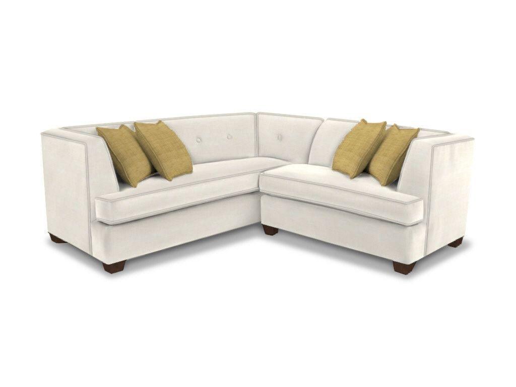 Captivating Bassett Living Room L Shaped Sectional   Furniture Showcase   Stillwater, OK