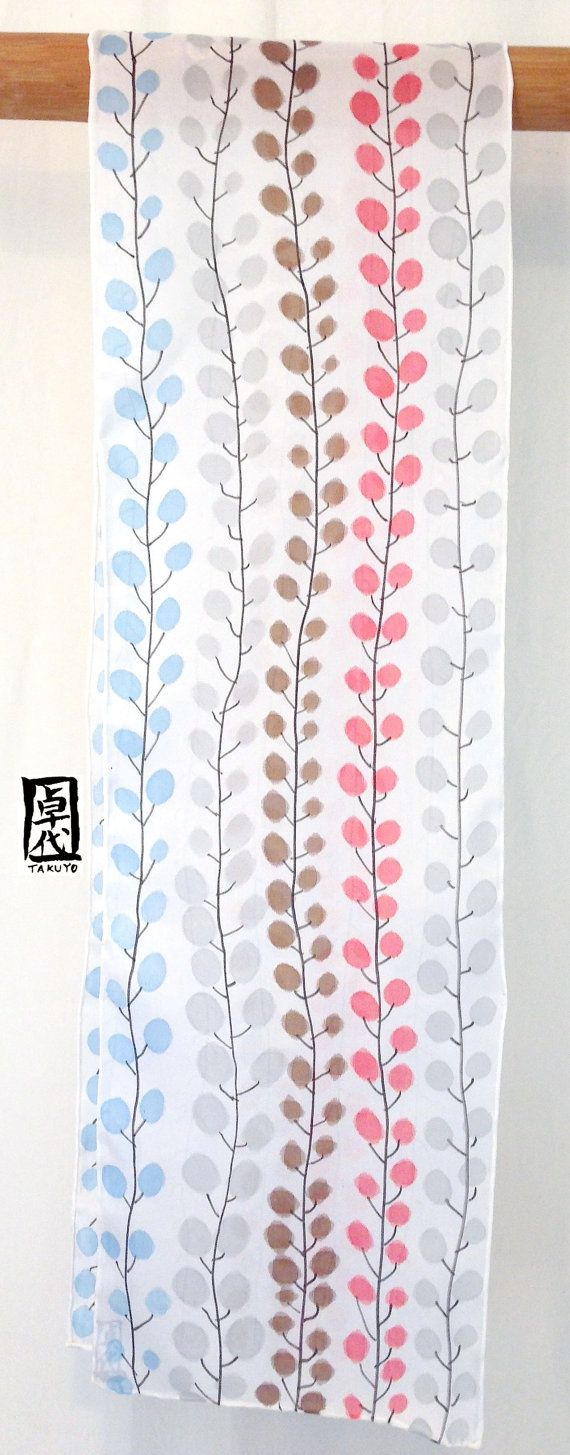 Silk Scarf Handpainted Mothers Day Gift Gift by SilkScarvesTakuyo