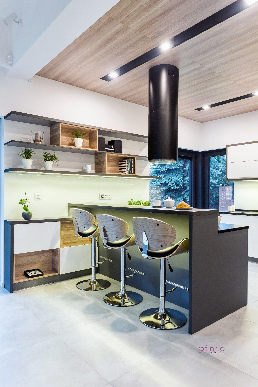 Nowoczesne Meble Kuchenne Na Wymiar Ekskluzywna Kuchnia Z Wyspa Tychy Home Furniture Home Decor