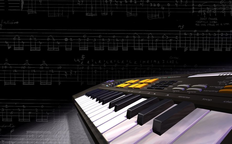 Synthesizer Hd Wallpaper Music Keyboard Music Wallpaper Music