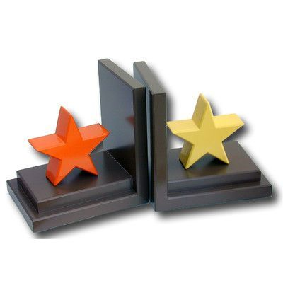 One World Stars Book Ends