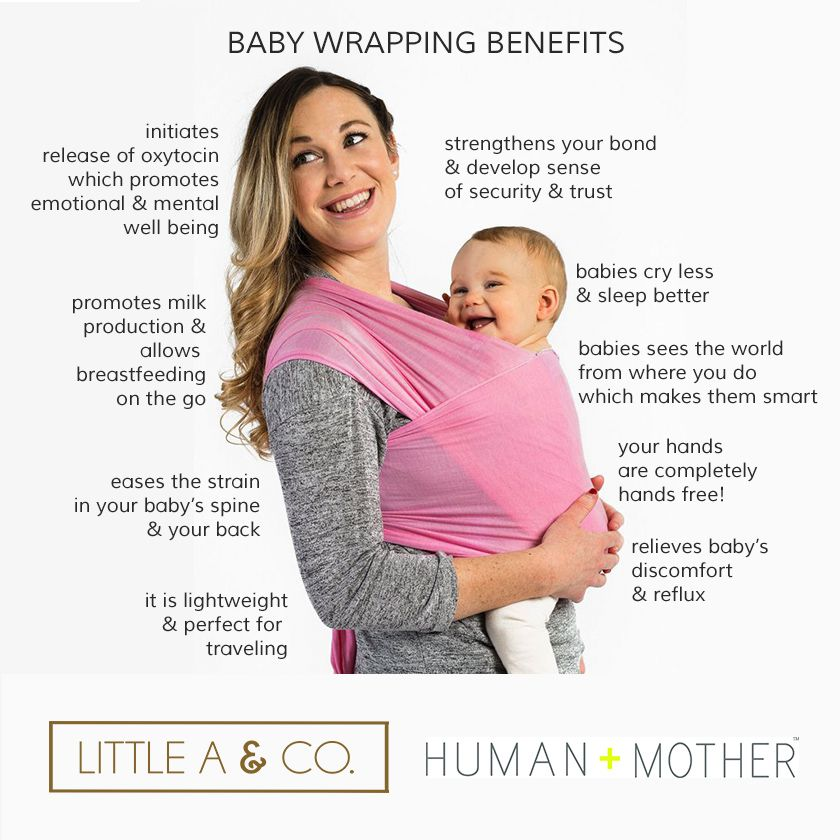 Baby Wrapping Benefits Little A Co Human Mother Are Partners