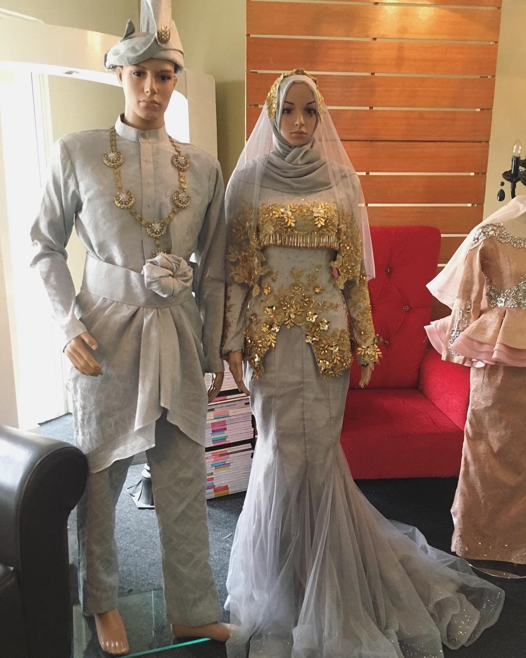 Pin oleh syadiah di wedding thingy  Baju pengantin, Gaun