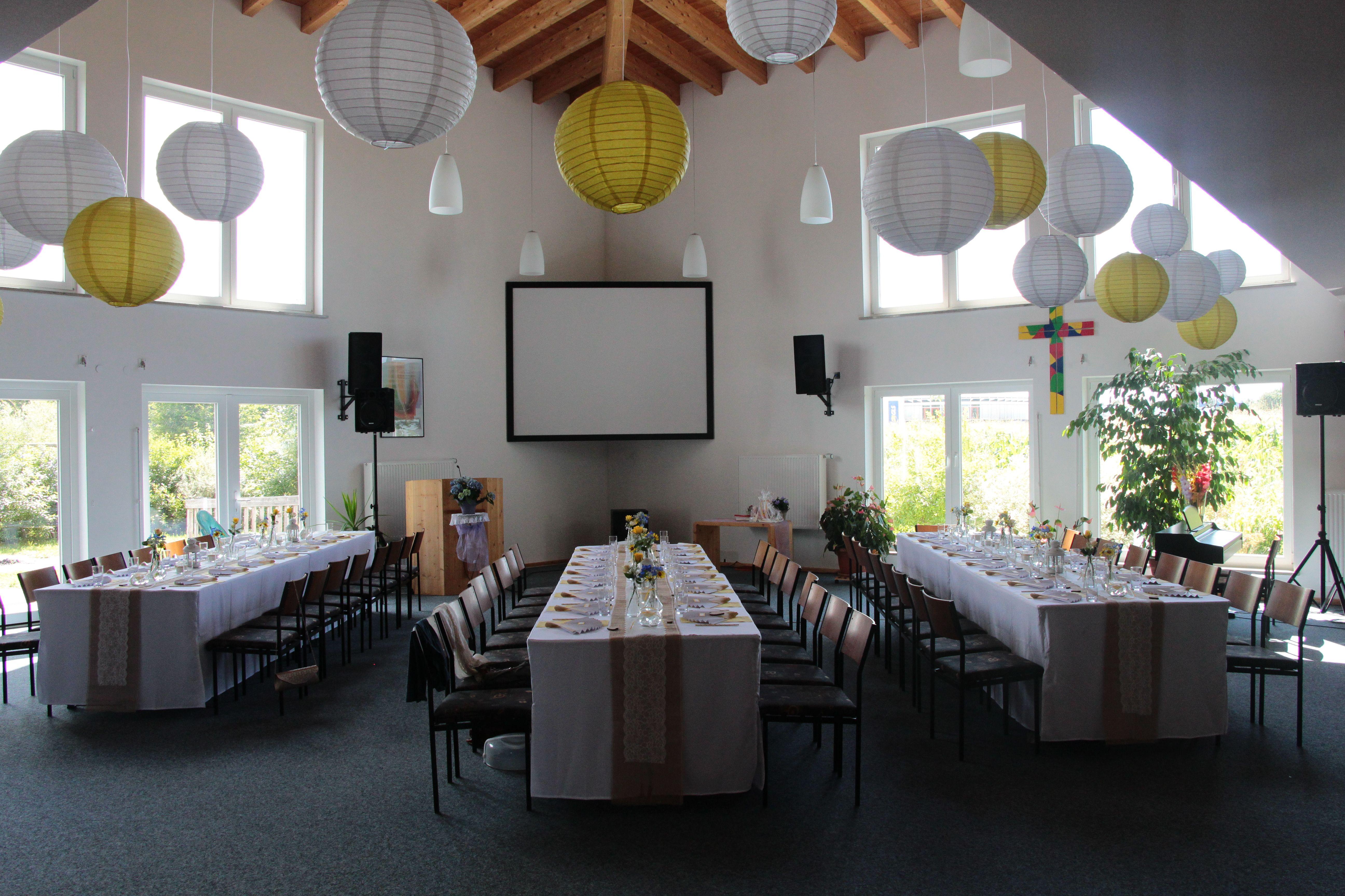 Lampions kinderzimmer ~ Wedding #yellow #white #summer #flowers #blue #lampions #hochzeit