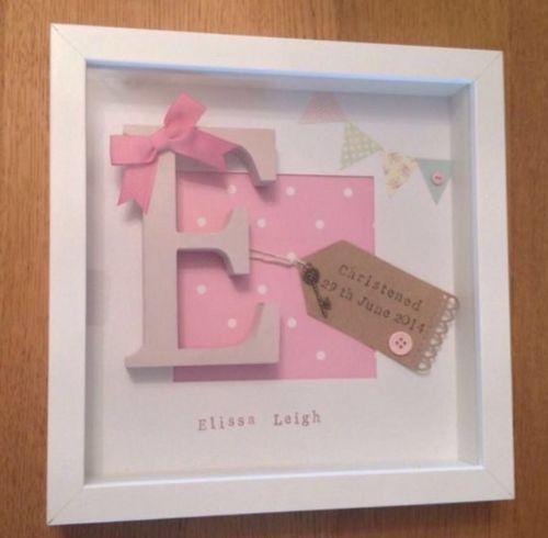 💖Personalised New Baby, Birth, Christening, Boy & Girl Frames Gift ...