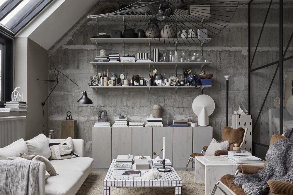 Cet Ancien Atelier D Artiste Est Devenu Un Petit Appartement Ideal
