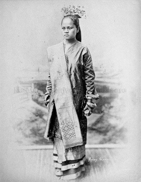 A Portrait Of A Malay Woman 1890 Historical Fashion