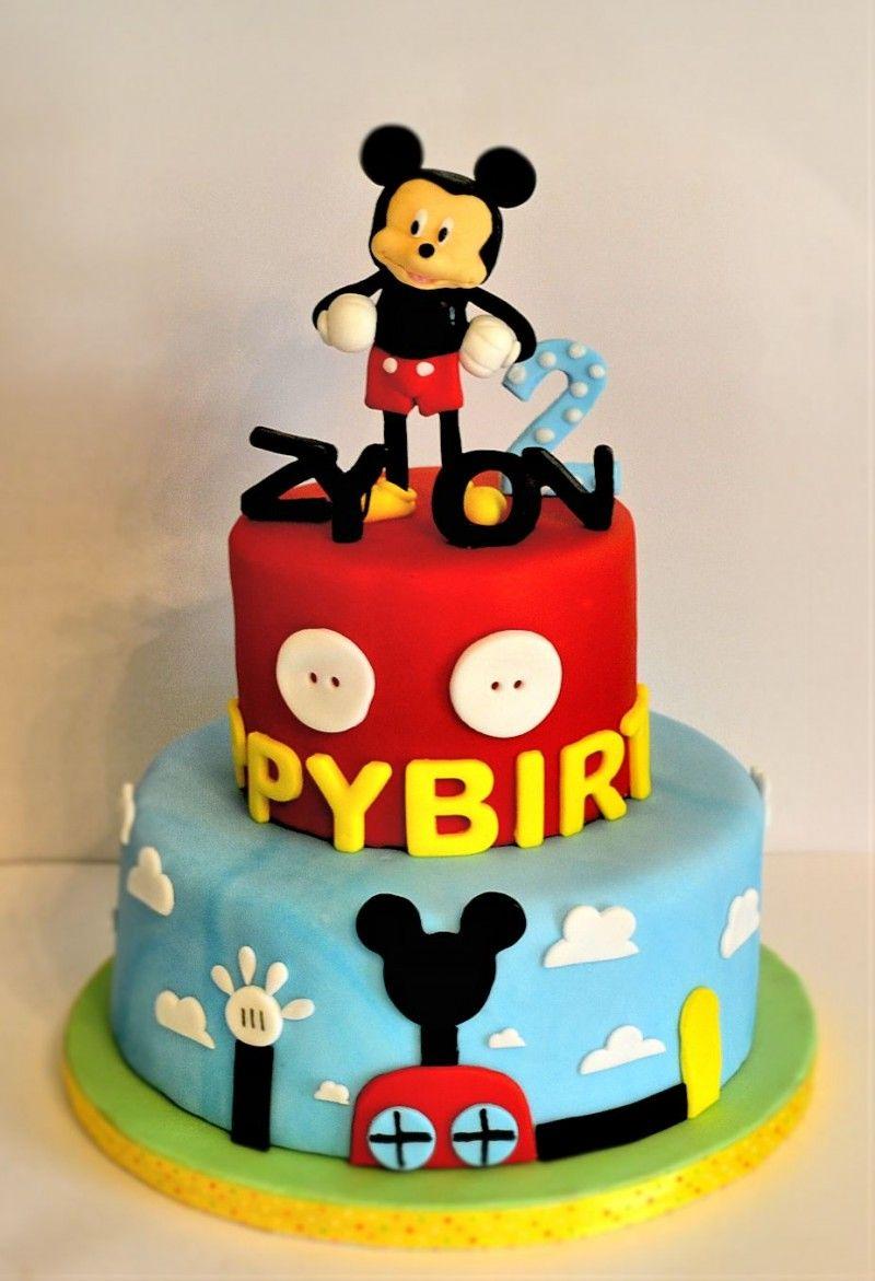 Fondant Mickey Mouse Cake Jacksonville fl Sarah Daliberti Cake