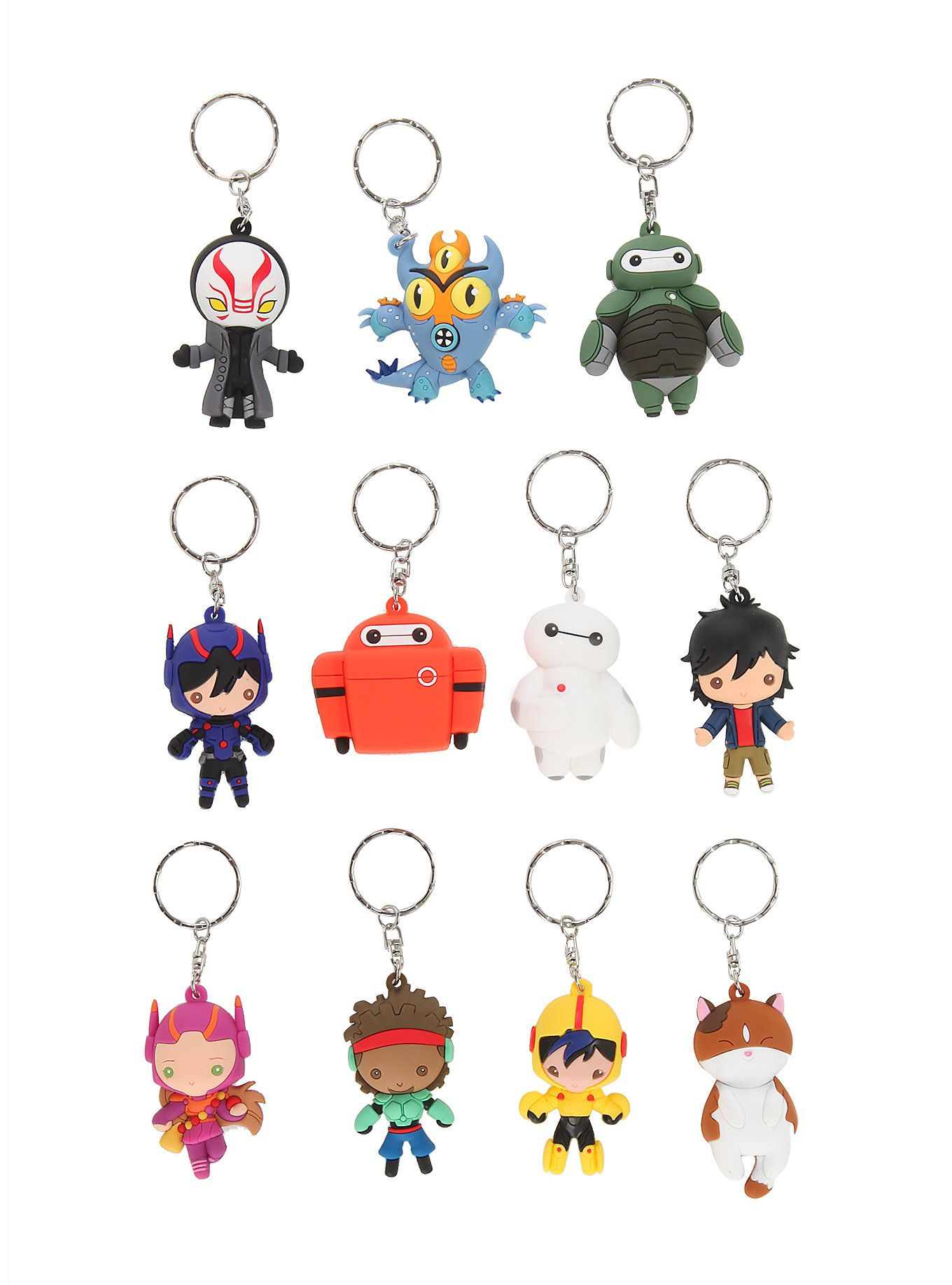 Disney Big Hero 6 Key Chain Blind Bag,
