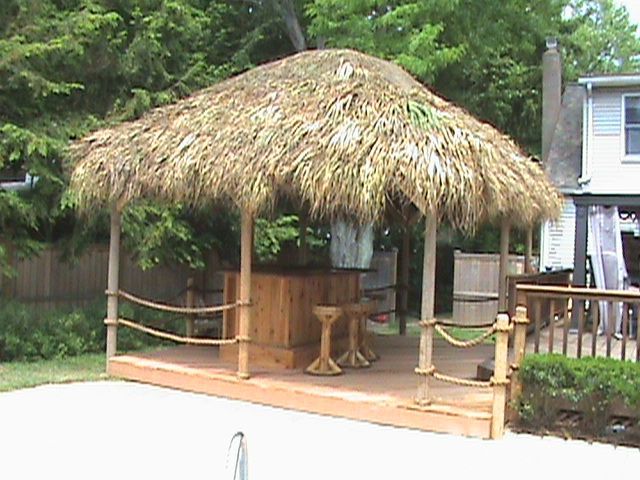 Fresh Tiki Hut Bar Kits