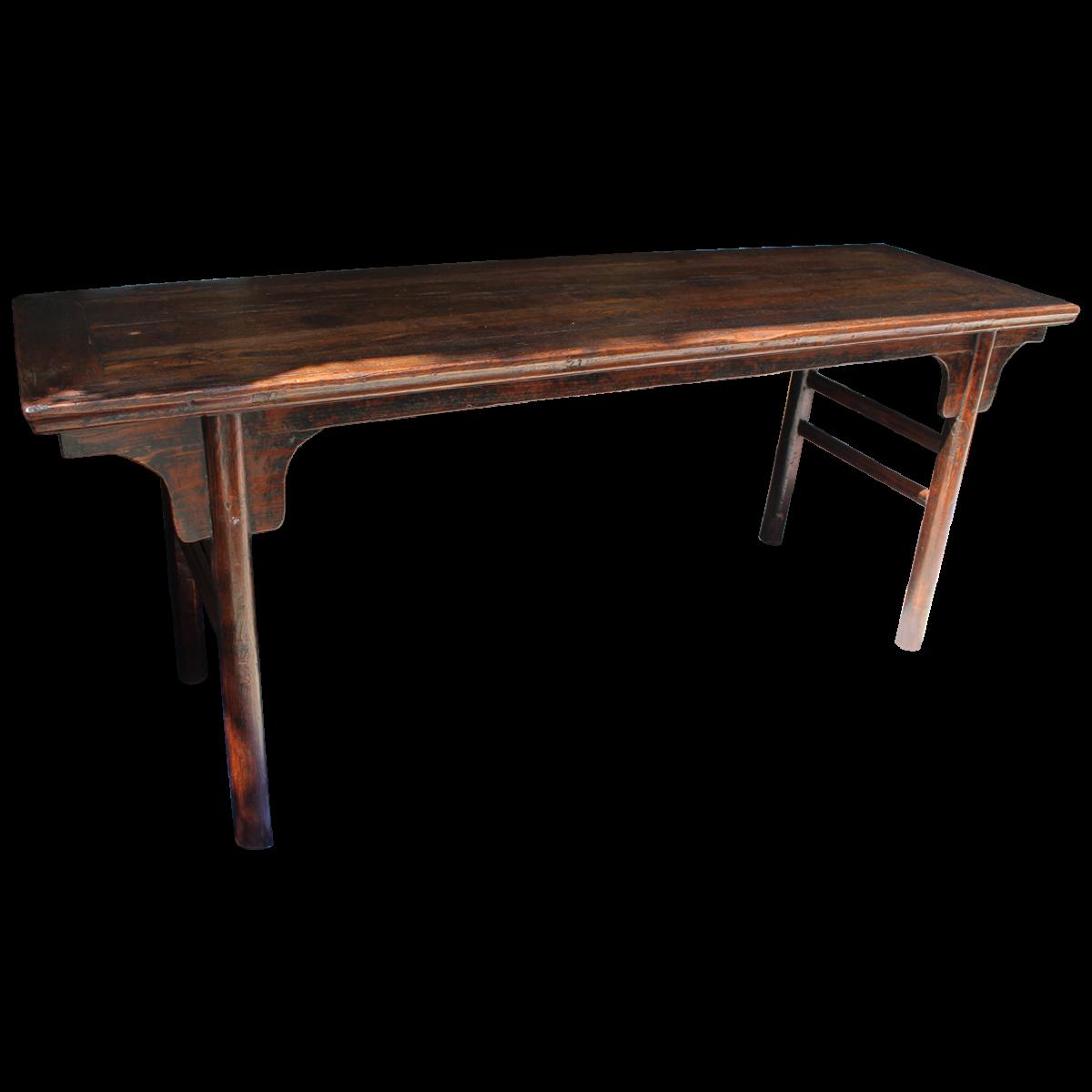Loft bed with desk jordan's furniture  Chinese Style Elm Altar Table  Pinterest
