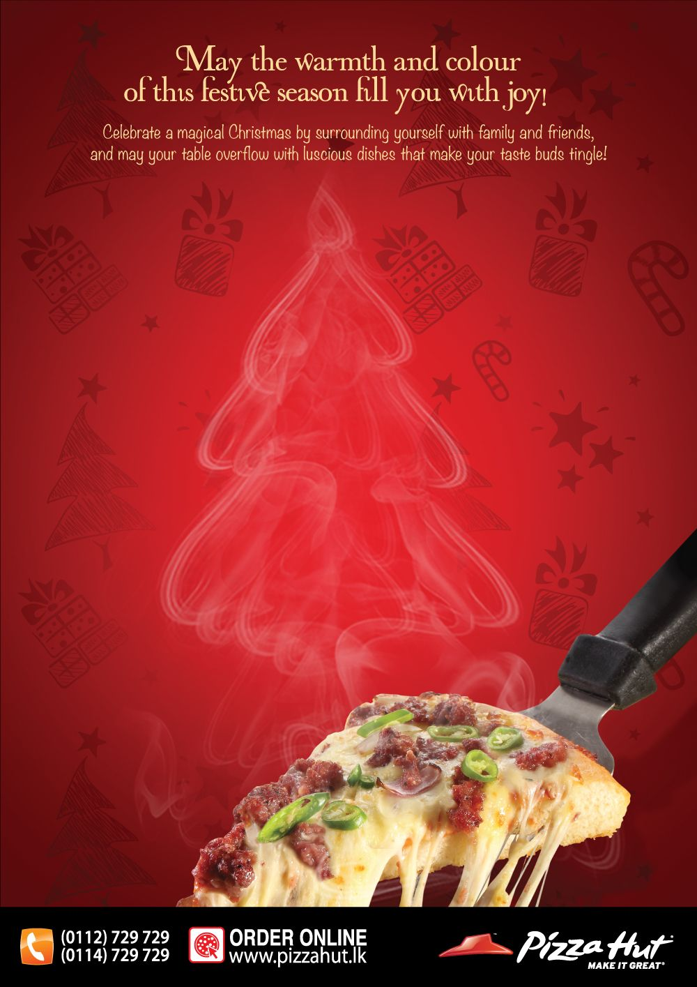 Is Pizza Hut Open On Christmas.Merry Christmas From Pizza Hut E Mail Advertising Pizza