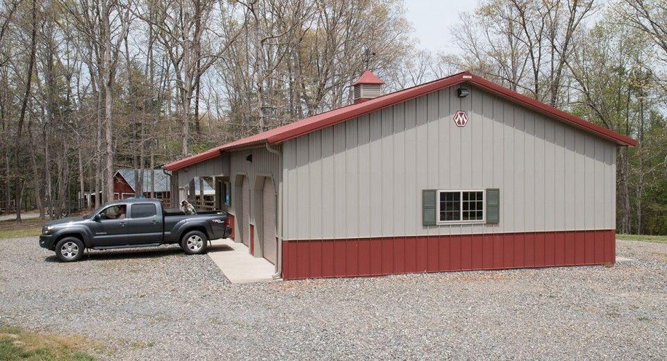 Morton Buildings Garage in Asheville, North Carolina