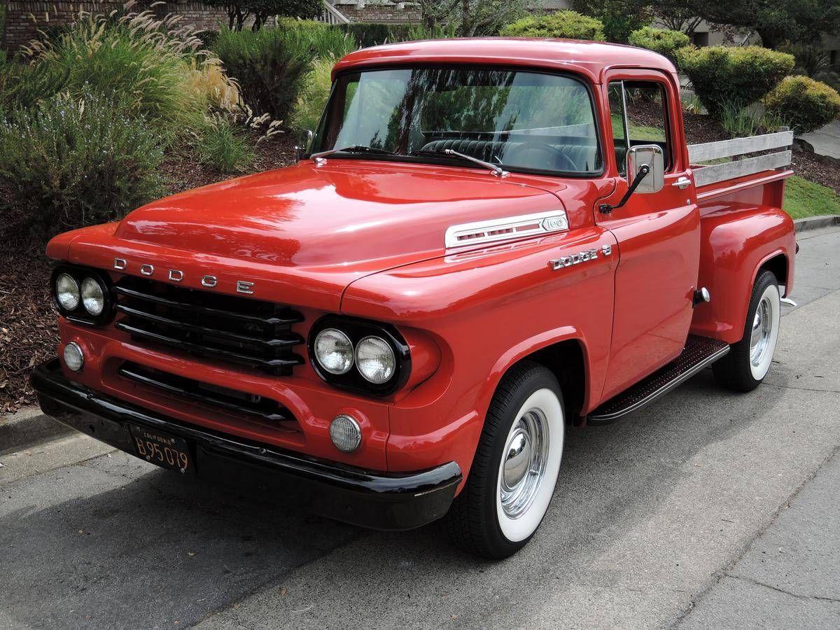 1958 Dodge D100 Step Side | trucks/camionetas | Pinterest | Dodge ...