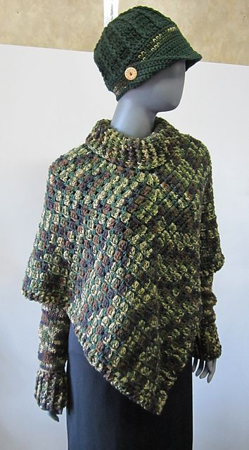 Ravelry Project Gallery For Sporty Poncho Pattern By Salena Baca Beauteous Crochet Poncho Pattern Ravelry