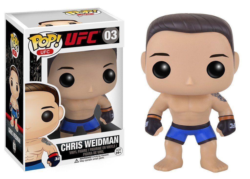 Funko Pop Sports UFC Chris Weidman Vinyl Figure Vinyl