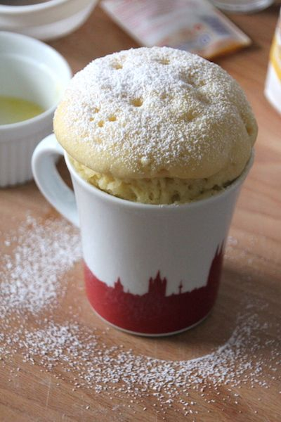 Joghurt Mug Cake 5 Minuten Kuchen Aus Der Mikrowelle Cupcakes