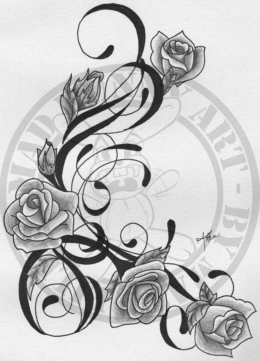Pin By Priscilla Jane On Tattoos Rose Vine Tattoos Vine Tattoos Flower Vine Tattoos