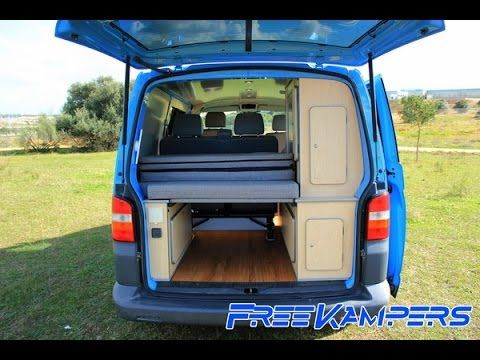 freekampers vw t5 camper lagoon edition youtube camper. Black Bedroom Furniture Sets. Home Design Ideas