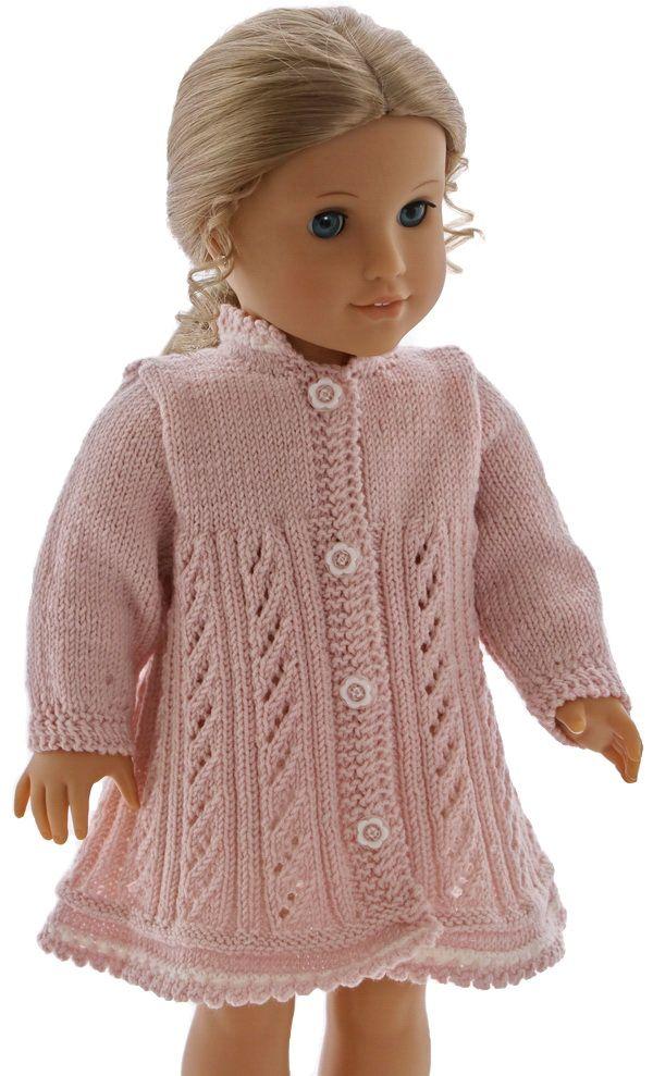 Puppenkleid stricken anleitung | всё для кукол-детей и девочек ...