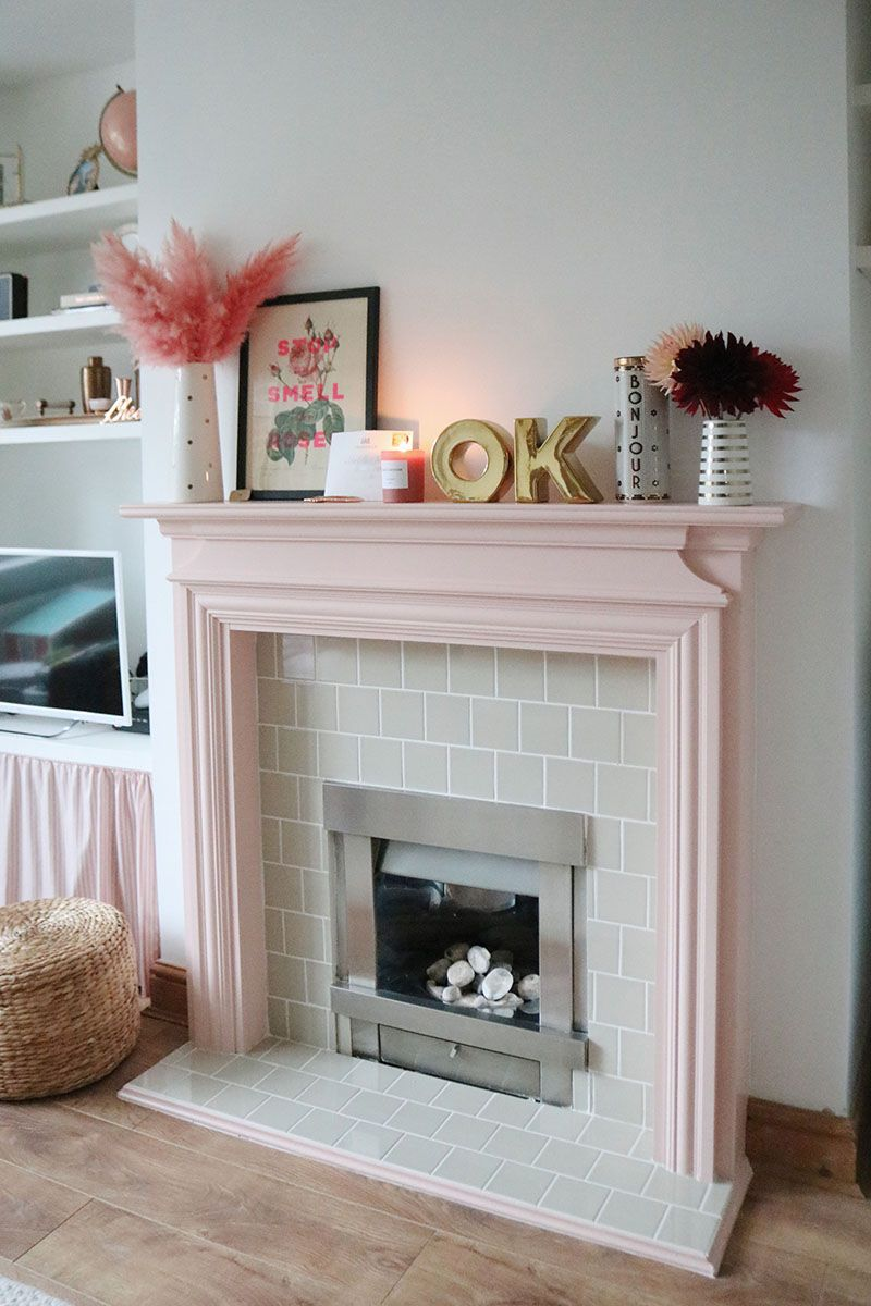 Ad A DIY Fireplace in a Rented Home with B&Q (With images